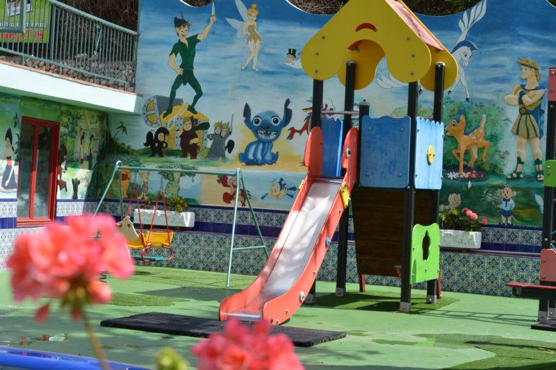 Parque y Piscina Infantil